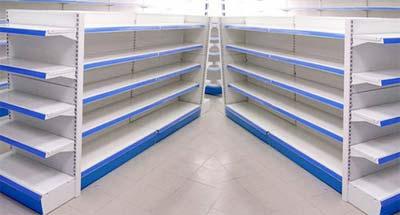 Kệ siêu thị vách lỗ đôi